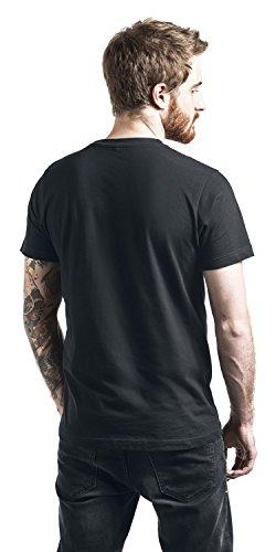 Fluch der Karibik Sparrow Classic T-Shirt Schwarz Schwarz