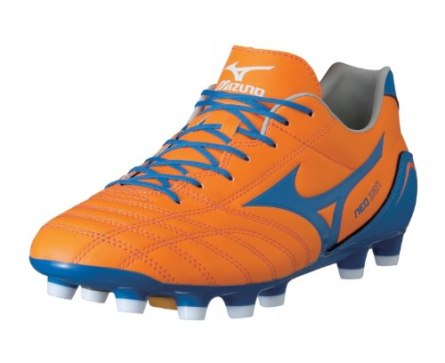 Mizuno Sneakers Football NEO Zen MD Arancio/Blu/Bianco