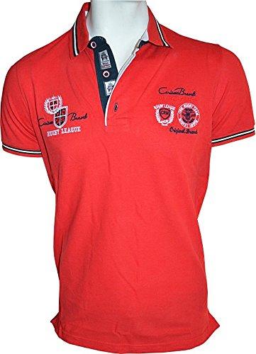 Brandneu !!! Designer Polo-Shirt von CARISMA in Rot CRM4011 Rot