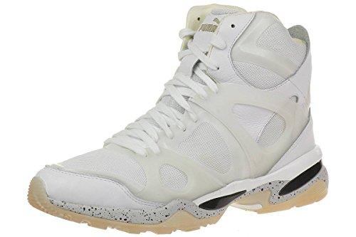 Puma McQ Run Mid by Alexander McQueen Mens Sneaker white, pointure:eur 44