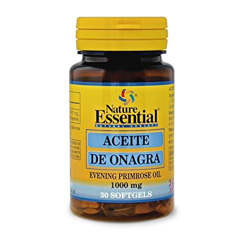 Nature Essential Aceite onagra 1000 mg. 10% gla 30