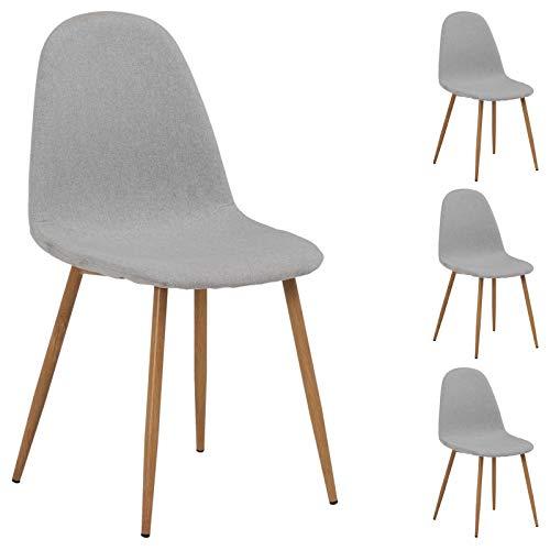 IDIMEX Melinda à 4 chaises pour Lot Salle Manger ou de dBCoex