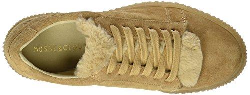 MUSSE & CLOUD Damen Anis Sneakers Braun (Cue)