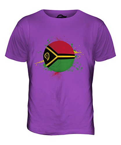 CandyMix Vanuatu Fußball Herren T Shirt Violett