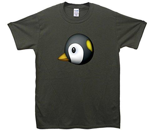 Penguin Emoji T-Shirt Khaki