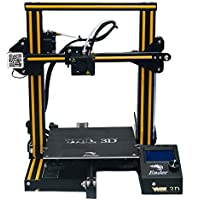 WOL3D Creality Upgraded Ender 3 Pro 2021 Model With laser engraver with Silent Motherboard (VR 4.2.2), Orange strip with…