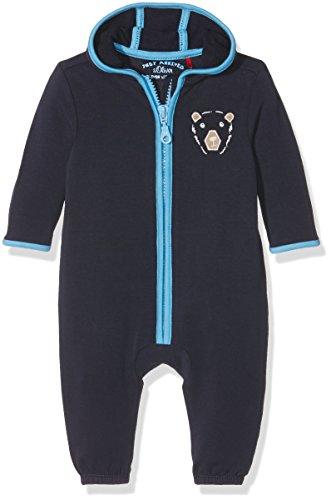 s.Oliver Baby-Jungen Spieler JA Overall, Blau (Dark Blue 5874), 68