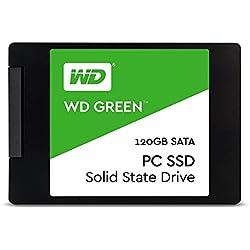 """WD Green 120GB Unità allo Stato Solido SSD Interna - SATA 2.5"""" - WDS120G1G0A"""