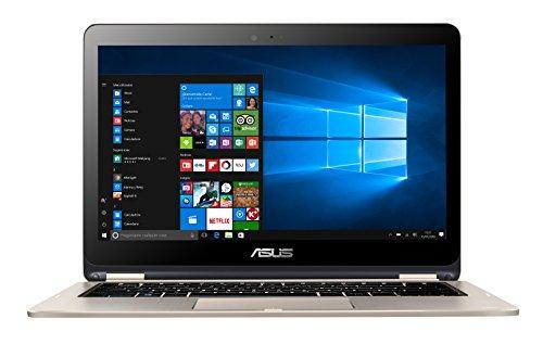 """ASUS TP301UA-DW010T - Portátil de 13.3"""" (Intel Core i3-6100U, RAM de 4 GB, 500 GB HDD, Intel HD Graphics 520, Windows 10) dorado - Teclado QWERTY Español"""
