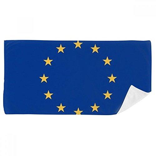 Europa-handtuch (DIYthinker Eu National Flagge Europa Land Badetuch Weichen Waschlap Kulli Waschlap Kulli 35X70Cm 35 x 70cm Mehrfarbig)