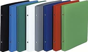 Classeur pour format ecolier 17x22 2 anneaux 15mm polypropylene opaque - 230x200