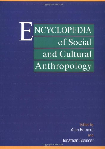 Ency Of Social & Cult Anthropo
