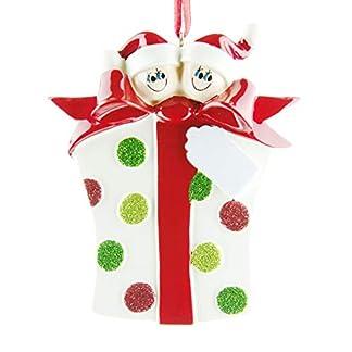 Decoración personalizada de Árbol de Navidad para familias de 2 a 7 miembros, puedes poner los nombres en el producto, ideal como regalo