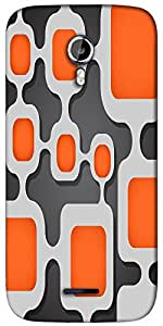 Snoogg Digital Tube Designer Protective Back Case Cover For Micromax A117