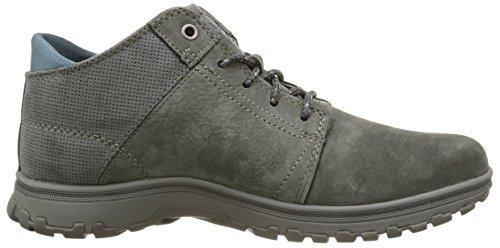 Caterpillar Science Mid, Chaussures à lacets homme Gris (Dark Cloud)