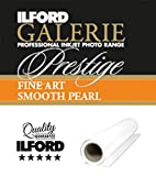 ILFORD GALERIE Prestige FineArt Smooth Pearl 270 GSM 17 Zoll - 43,2 cm x 15 m 1 Rolle