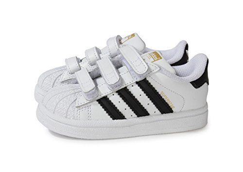 adidas Originals Baskets 'Superstar Foundation' - B23637 - Taille EUR 25 - Couleur Noir Et Blanc