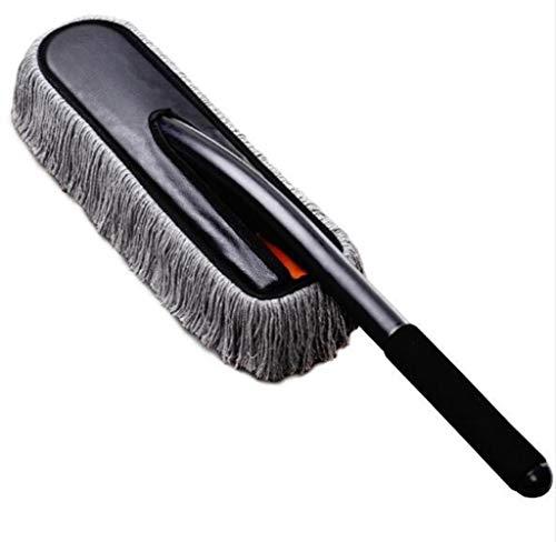 XH Shop Car wash mop Langer Griff Autowaschmopp Reinigungsbürste Faser Würfel Auto Wachs ziehen abstauben Wash Mop