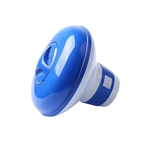 Crewell - Dispensador de Cloro para Tableta de SPA química, dispensador de Productos químicos flotantes, 5 cm, 5''/13 cm