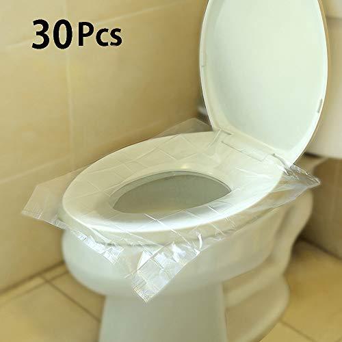 Snncan Copriwater Usa e Getta Copertura Igienica Coprisedili [30 Pcs] per bambini, mamme incinte, con imballaggio individuale
