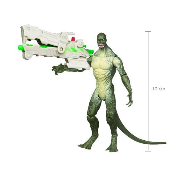 Hasbro 38327 - Spider-Man, Figura de Lagarto Lanzador de misiles, Color Verde 1