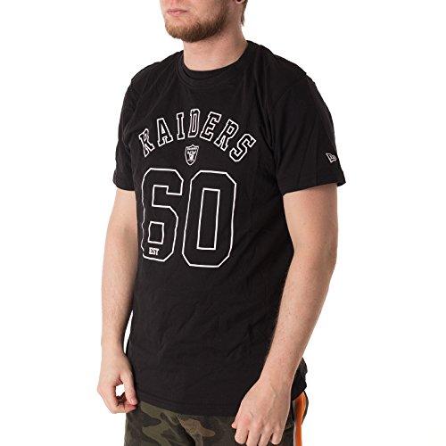 New Era NFL Team Arch Logo Tshirt - Oakland Raiders -
