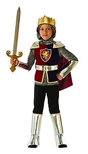 Rubies - Disfraz de caballero medieval para niño, talla 3-4 años (Rubies 641138-S)