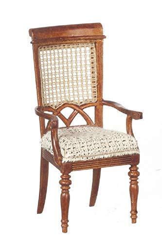 Französisch Esszimmer-möbel (Melody Jane Puppenhaus Berger Französisch Ellenbogen Armlehnenstuhl JBM Wlanut Esszimmer Möbel)