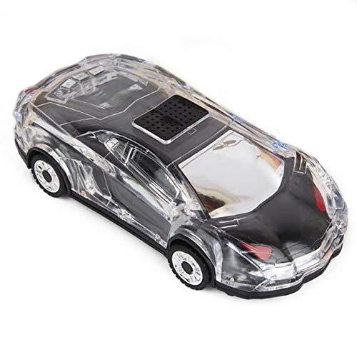 qiyanNew Creative Speaker Sports Car Flashing Light Mini Portable Wireless Speaker Light...