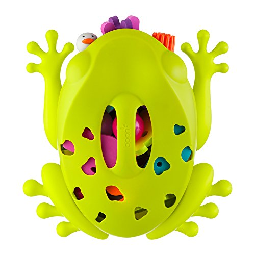 wahren von Badespielzeug und Badeutensilien | Aufbewahrungsbox in Form eines Froschs für Ordnung und Sauberkeit im Badezimmer ()