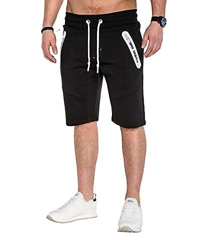 BetterStylz ZwitchBZ kurze Jogging-Hose Sweat-Shorts Bermuda Slim Fit Fitness Hose