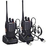 Nestling 2 PCS Talkie Walkie Rechargeable Baofeng 888s Longue portée 16CH Radio...