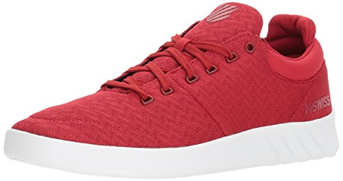 K-Swiss Aero Trainer T, Sneakers Basses Homme Rouge (Chili Pepper/white)