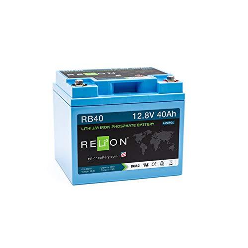 Lithium Batterie 40Ah LiFePO4 Batterie RB40 RELion