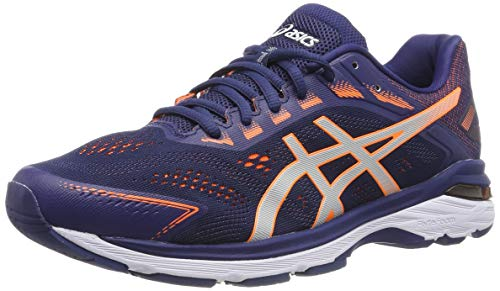 ASICS GT-2000 7, Scarpe da Running Uomo, Blu (Indigo Blue/Shocking Orange 400), 41.5 EU