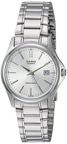 9d3c9f8f1761 CASIO 19728 LTP-1183A-7A - Reloj Señora cuarzo brazalete metálico plata