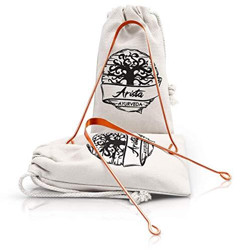 Limpiador Lengua cobre | Yoga & medicina Ayurveda