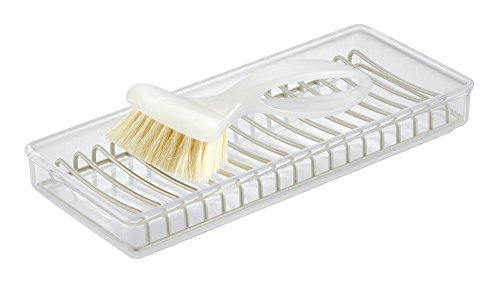 mdesign-clarity-kitchen-sink-soap-dish-or-sponge-scouring-pad-tray-clear-satin