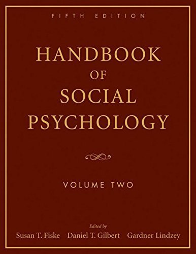 Handbook of Social Psychology: Volume Two by Susan T. Fiske (2010-02-15)