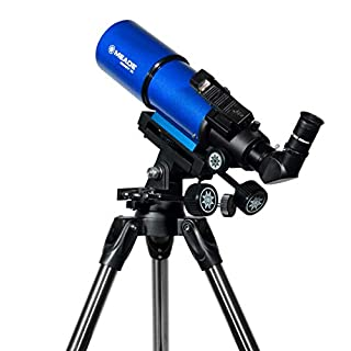 Meade Instruments Infinity 80 AZ3 Refractor Telescope - Blue