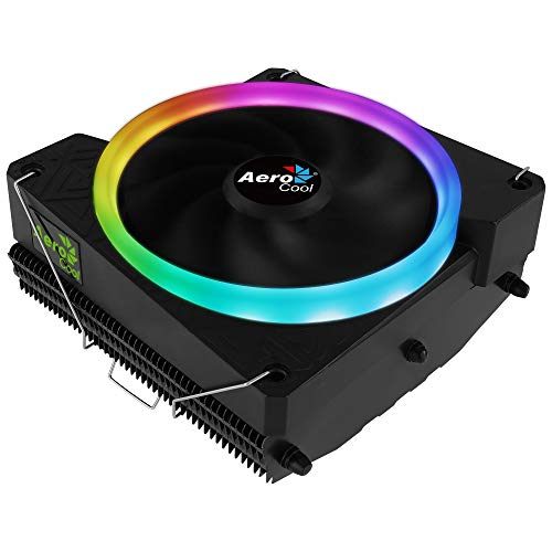 Aerocool CYLON 3, refrigeración PC, iluminación LED RGB, 3 heat pipes