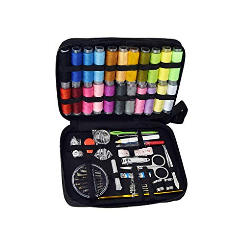 Flushzing 126pcs DIY Sewing Kit Nadeln Stifte Schere Gewinde Clips Bandmaß Mending Set Sticken Quilten Werkzeuge -