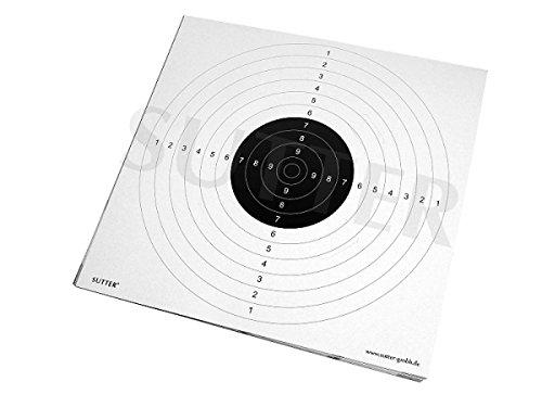 SUTTER Zielscheiben 55x53cm mit Einsteckschlitzen - 20er Pack