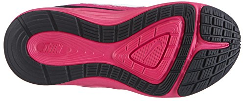 Nike  Fusion Run 3 (PSV), Chaussures de course pour fille Rose - Pink (Hot Pink/White-Black-Fireberry)