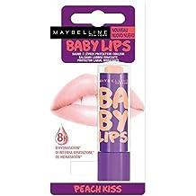 Gemey Maybelline rot hat/Lippen Balsam Baby Lips Peach Kiss Blister/Nu–(Preis pro Stück)–Schneller und gepflegte