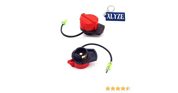 Xlyze On Off Schalter Für Motor 2 Stück Für Gaswasserpumpe Benzingenerator Gx160 Gx200 Gx270 Gx340 Gx390 Auto