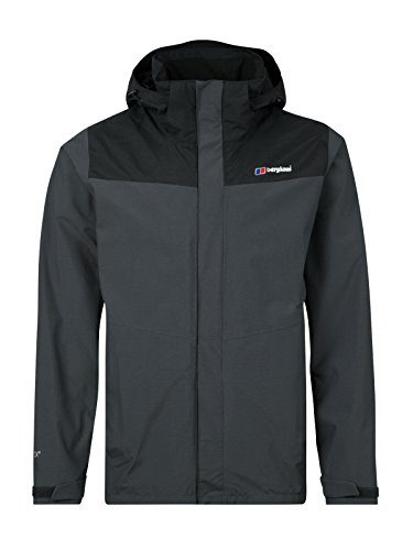 berghaus Hillwalker Interactive Gore-Tex Waterproof, Giacca Uomo, Carbon/Black, XL