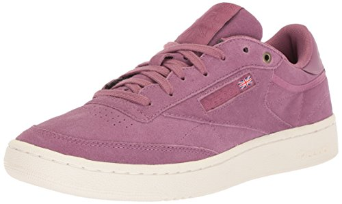 Reebok Men\'s Club C 85 MCC Cross Trainer, Dusty Pink/Chalk, 12 M US