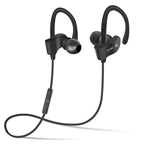 My Style Xiomi Redmi Note 5 Pro Compatible Professional Bluetooth 4.1 Wireless Stereo Sport Headphones Headset Running Jogger Hiking Exercise Sweatproof Hi-Fi Sound Hands-free Calling Supported Devices QC-10 Sweatproof Earbuds, Best for Running,Gym Noise Cancellation Stereo Sound Quality Compatible with All Android/Ios Smartphone- Assorted Color