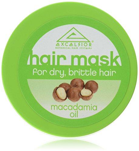 Hydrating Macadamia-Öl (Excelsior Macadamia Öl Hair Mask Jar 175 ml)